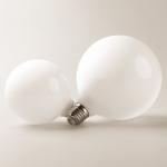 7W E27 Screw Glass Led Bulb Household Energy Saving Lamp Dragon Ball Shape(Three-color Light)