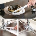 Multi Function Vanity Window Groove Decontamination Brush Cleaning Tool