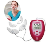 Facial Body Care Electronic Beauty Machine Weight Loss Massager Face Instrument(Red)