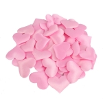 100 PCS / Pack 3.5cm Wedding Supplies Love Hand Throw Flower Wedding Room Decoration Simulation Fake Petals(Pink)