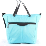 Multifunctional Four-in-one Baby Stroller Bottle Bag Mummy Bag(Blue)