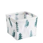2 PCS Storage Bin Closet Toy Box Fabric Basket Desk Container Makeup Organizer Case(Deer)