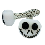 Halloween Ghost Face Crafts Decoration Glass Pipe Halloween Styling