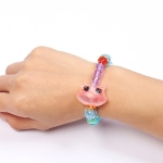 Fashion Jewelry Toys Early Learning Puzzle Bracelet Magic Animal Variety Bracelet Glowing Toys, Random Style Delivery