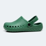Breathable Lightweight Non-slip Nursing Surgical Experimental Medical Workwear, Shoe size:38(Green)