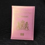 Credit Card Holder Clip ID Document Money Bag Holder(Pink)