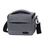 Waterproof DSLR Camera Bag for Nikon Canon SONY Panasonic etc Camera, Size:Large(Gray)