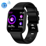 X116 1.3 inch HD Screen IP67 Waterproof Smart Bluetooth Silicone Strap Bracelet, Support Call Reminder / Heart Rate Monitoring / Blood Pressure Monitoring / Sleep Monitoring(Black)