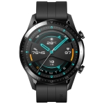 HUAWEI WATCH GT 2 46mm Sport Wristband Bluetooth Fitness Tracker Smart Watch, Kirin A1 Chip, Support Heart Rate / Pressure Monitoring / Exercise / Pedometer / Call Reminder (Black)