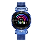 SL08 1.04 inch Smart Bracelet, Support Heart Rate & Blood Pressure Monitoring / Sleep Monitoring / Call Reminder (Blue)