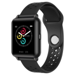 P8 1.3 inch IPS Color Screen Smart Watch, Support Heart Rate Monitoring / Blood Pressure Monitoring / Sleep Monitoring / Blood Oxygen Monitoring (Black)