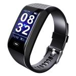 CK28 Smart Bracelet, Support Heart Rate & Blood Pressure Monitoring / Sedentary Reminder / Sleep Monitoring / Call Reminder (Black)