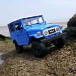 C-34 1:16 Wireless Remote Control Climbing Off-road Vehicle Children Toy Car (Blue)