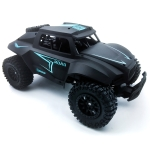 608 2.4GHz High-speed Electric Remote Control Car Off-road Vehicle Toy(Black)