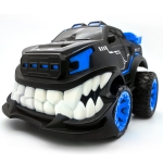 HD885J Devil Tooth Shape 360 Degree Upright Rotation Stunt Remote Control Car Electric Vehicle Toy (Blue)