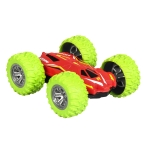 8031 Rechargeable Stunt Car Children Toy Double-sided Off-road Dump Truck (Green)