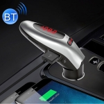 G96 Bluetooth Wireless Multi-function Car Kit MP3 Player FM Player Dual USB Charger with LED Screen, Support Hand-free and TF Card