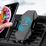 T3 Intelligent Auto-induction Car Mount Wireless Charger, Suitable for 4.5 – 6.8 inch Smartphones