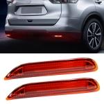 2 PCS 398D 2.7W / 12V Car Rear Bumper Light Brake Light for Nissan / Infiniti