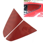 2 in 1 Car Carbon Fiber Shutter Decorative Sticker for Ford Mustang