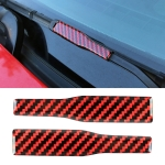 2 in 1 Car Carbon Fiber Wiper Decorative Sticker for Ford Mustang