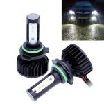 2 PCS P7 9006 DC9-36V 24W 6500K 3000LM IP68 Car LED Headlight Lamps / Fog Light (White Light)