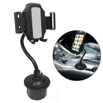 Universal Car Cup Long Hose Mobile Phone Holder (Black)