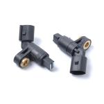 2 PCS Car ABS Front Wheel Sensor 1J0927803 (L) / 1J0927804 (R) for Volkswagen / Audi