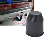50mm Plastic Car Truck Tow Ball Cover Cap Towing Hitch Trailer Towball Protection