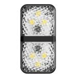 2 PCS Baseus Car Door Anti-collision Warning Light(Black)