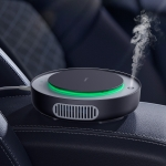 Baseus Freshing Breath Car Air Purifier Negative Ions Air Cleaner(Black)