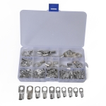 90 in 1 Boat / Car Bolt Hole Tinned Copper Terminals Set Wire Terminals Connector Cable Lugs SC Terminals