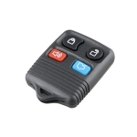 Car Key Transmitter FCCID: CWTWB1U345 315MHZ 4 Buttons Remote Control for Ford, with Battery