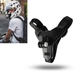 Helmet Belt Mount for GoPro HERO8 Black /7 /6 /5 /5 Session /4 Session /4 /3+ /3 /2 /1, Xiaoyi and Other Action Cameras (Black)