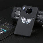 For Huawei Mate 30 Shockproof Stick Figure Pattern Soft TPU Protective Case(Wing)
