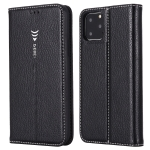 For iPhone 11 Pro GEBEI PU+TPU Horizontal Flip Protective Case with Holder & Card Slots(Black)