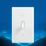 PC Double-connection Power Socket Switch, US Plug, Square White UL 20A Double Plug
