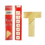 Wooden T Word Puzzle Children Educational Intellectual Puzzle Toys