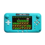 RS-52FC PSP 4.0 inch Pocket Console Handheld Game Player, Support 208 NES Classical Games (Blue)