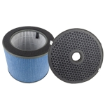For Haier F300/MFC F330/MFA Air Purifier Replacement Screen Strainer HEPA + Activated Carbon Filter Element Set