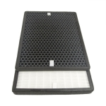 For LUFTMED D300 Air Purifier Replacement Filter Element HEPA + Activated Carbon Screen Strainer Set