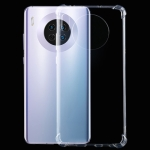 For Huawei Mate 30 Four-Corner Shockproof Ultra-Thin Transparent TPU Case