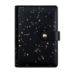 CAGIE A6 Loose-leaf Notebook Student Diary Book Creative Starry Sky Gift