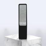 Non-slip Texture Washable Silicone Remote Control Cover for Samsung Smart TV Remote Controller (Black)