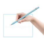 Alloy Eternal Writing Pencil Office Stationery (Blue)