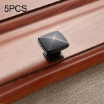 5 PCS 6227 Simple Furniture Cabinet Handle Black Bronze Handle