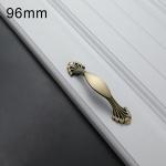 1006-96 Cabinet Wardrobe Door Handle Solid Copper Door Handle
