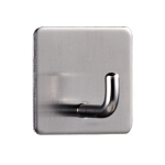 MYD-1038 304 Stainless Steel Sticky Hook Kitchen Bathroom Multi-functional Hole Free Wall Mount Holder