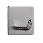 MYD-1039 304 Stainless Steel Sticky Hook Kitchen Bathroom Multi-functional Hole Free Wall Mount Holder
