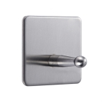 MYD-1036 304 Stainless Steel Sticky Hook Kitchen Bathroom Multi-functional Hole Free Wall Mount Holder